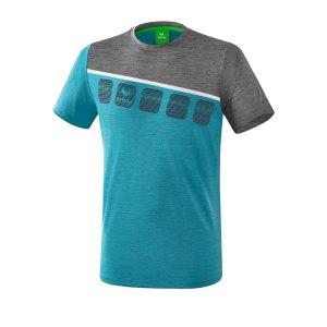 erima-5-c-t-shirt-blau-grau-fussball-teamsport-textil-t-shirts-1081906.png