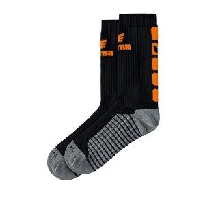 erima-classic-5-c-socken-schwarz-orange-fussball-teamsport-textil-socken-2181916.png