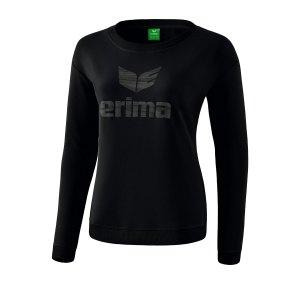 erima-essential-sweatshirt-damen-schwarz-grau-fussball-teamsport-textil-sweatshirts-2071926.png