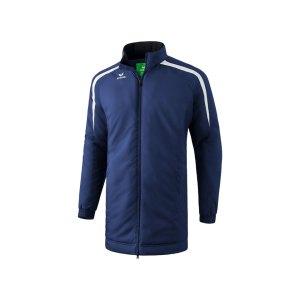 erima-liga-2-0-coachjacke-kids-blau-weiss-teamsport-trainerkleidung-allwetterjacke-1061802.png