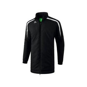 erima-liga-2-0-coachjacke-kids-schwarz-weiss-teamsport-trainerkleidung-allwetterjacke-1061801.png