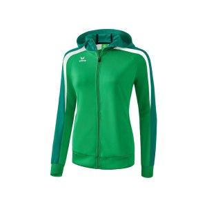 erima-liga-2-0-kapuzenjacke-damen-gruen-weiss-teamsport-hoody-mannschaftsausruestung-sportkleidung-1071853.png