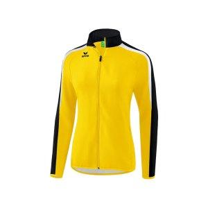 erima-liga-2-0-praesentationsjacke-damen-gelb-teamsport-vereinsbedarf-mannschaftskleidung-oberbekleidung-1011838.png