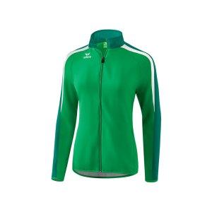 erima-liga-2-0-praesentationsjacke-damen-gruen-weiss-teamsport-vereinsbedarf-mannschaftskleidung-oberbekleidung-1011833.png