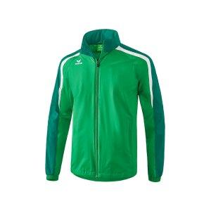 erima-liga-2-0-regenjacke-gruen-weiss-teamsport-allwetter-wasserschutz-vereinskleidung-1051804.png