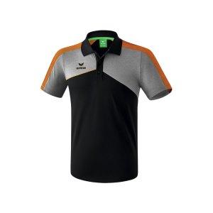 erima-premium-one-2-0-poloshirt-schwarz-orange-teamsport-vereinskleidung-mannschaftsausstattung-shortsleeve-1111807.png