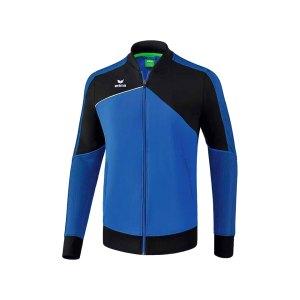 erima-premium-one-2-0-praesentationsjacke-kids-blau-sportbekleidung-oberteil-jacket-1011801.png