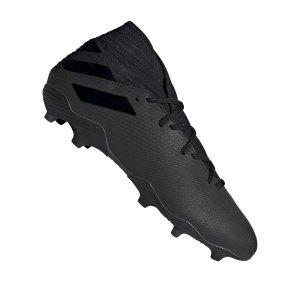 adidas-nemeziz-19-3-fg-schwarz-fussball-schuhe-nocken-f34390.png