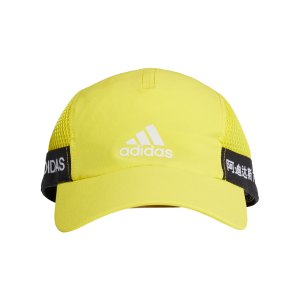 adidas-aeroready-runner-cap-gelb-schwarz-fk0844-laufbekleidung_front.png