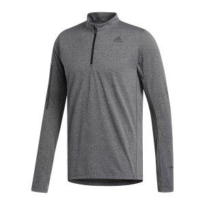 adidas-own-the-run-1-2-zip-shirt-running-grau-fl6966-laufbekleidung_front.png