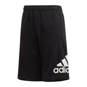 adidas-badge-of-sport-short-kids-schwarz-weiss-fm6456-fussballtextilien_front.png