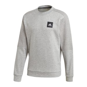 adidas-must-haves-crew-sweatshirt-grau-fr7164-fussballtextilien_front.png