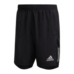 adidas-own-the-run-short-schwarz-fs9807-laufbekleidung_front.png