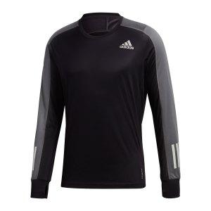 adidas-own-the-run-sweatshirt-running-schwarz-fs9812-laufbekleidung_front.png