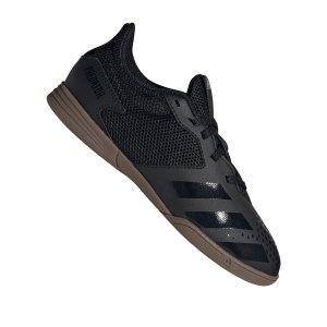 adidas-predator-20-4-in-sa-halle-kids-schwarz-grau-fussball-schuhe-kinder-halle-fv3153.png