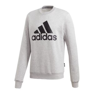 adidas-badge-of-sport-fleece-sweatshirt-grau-gc7337-fussballtextilien_front.png