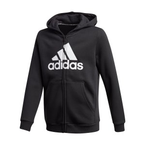 adidas-must-haves-fleece-kapuzenjacke-kids-schwarz-ge0644-fussballtextilien_front.png
