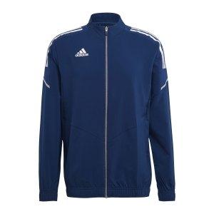 adidas-condivo-21-praesentationsjacke-blau-weiss-gh7135-teamsport_front.png