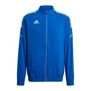 adidas-condivo-21-praesentationsjacke-blau-weiss-gh7136-teamsport_front.png