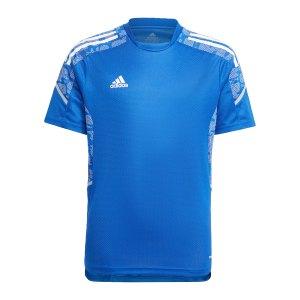 adidas-condivo-21-trainingsshirt-kids-blau-weiss-gh7147-teamsport_front.png
