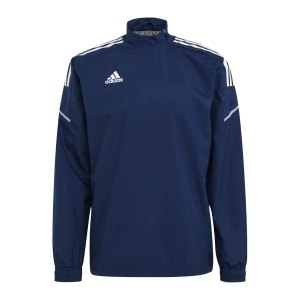 adidas-condivo-21-hybrid-sweatshirt-dunkelblau-gh7172-teamsport_front.png