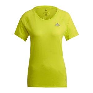 adidas-adi-runner-t-shirt-running-damen-gelb-gj9904-laufbekleidung_front.png