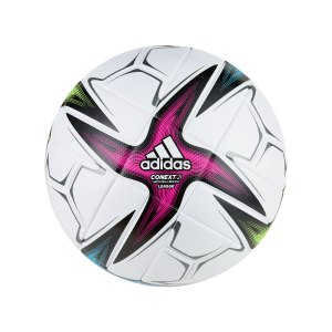 adidas-conext-21-lge-trainingsball-weiss-pink-gk3489-equipment_front.png