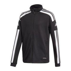 adidas-squadra-21-trainingsjacke-kids-schwarz-gk9542-teamsport_front.png
