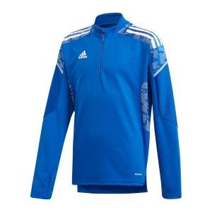 adidas-condivo-21-sweatshirt-kids-blau-gk9570-teamsport_front.png