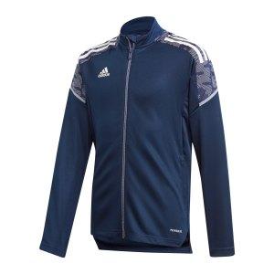 adidas-condivo-21-trainingsjacke-kids-blau-gk9576-teamsport_front.png