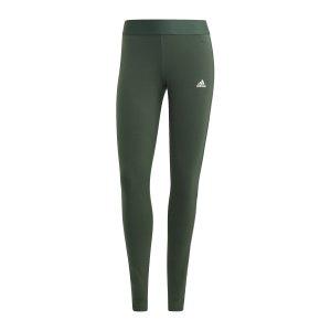 adidas-essentials-3-stripes-leggings-damen-gruen-gl0729-fussballtextilien_front.png