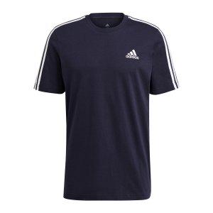 adidas-essentials-3-stripes-t-shirt-blau-gl3734-fussballtextilien_front.png