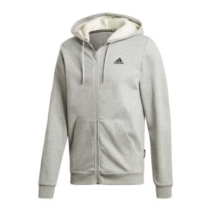 adidas-3-stripes-fleece-kapuzenjacke-grau-weiss-gm0903-lifestyle_front.png
