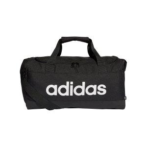 adidas-essentials-duffelbag-gr-xs-schwarz-weiss-gn2034-equipment_front.png