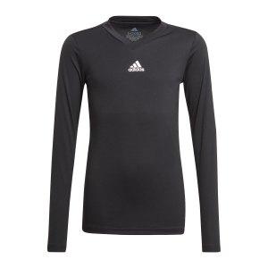 adidas-team-base-top-langarm-kids-schwarz-gn5710-underwear_front.png