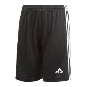 adidas-squadra-21-short-kids-schwarz-weiss-gn5767-teamsport_front.png