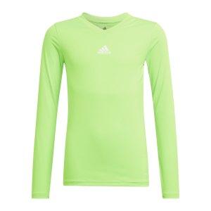 adidas-team-base-top-langarm-kids-gruen-gn7513-underwear_front.png