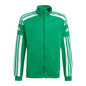 adidas-squadra-21-trainingsjacke-kids-gruen-weiss-gp6456-teamsport_front.png