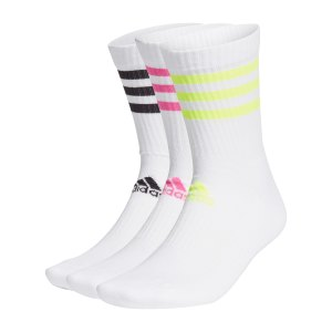 adidas-3s-csh-crew-socken-3er-pack-weiss-pink-gelb-gq5979-fussballtextilien_front.png