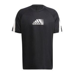 adidas-d2m-seasonal-t-shirt-schwarz-weiss-gr9679-laufbekleidung_front.png