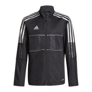 adidas-tiro-reflective-trainingsjacke-kids-schwarz-gs4705-fussballtextilien_front.png