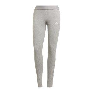 adidas-3-stripes-leggings-damen-grau-weiss-gv6017-fussballtextilien_front.png