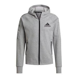 adidas-d2m-kapuzenjacke-grau-schwarz-h28797-fussballtextilien_front.png