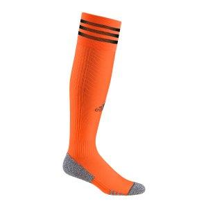 adidas-adisock-21-stutzenstrumpf-orange-schwarz-h58565-teamsport_front.png