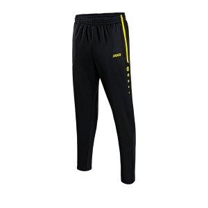 jako-active-trainingshose-kids-schwarz-gelb-f33-fussball-teamsport-textil-hosen-8495.png