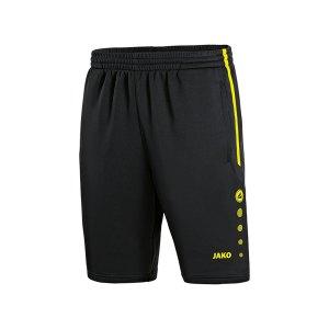 jako-active-trainingsshort-kids-schwarz-orange-f33-fussball-teamsport-textil-shorts-8595.png