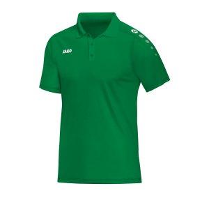 jako-classico-poloshirt-kids-gruen-f06-fussball-teamsport-textil-poloshirts-6350.png