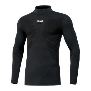 jako-comfort-2-0-turtleneck-kids-schwarz-f08-underwear-langarm-6955.png