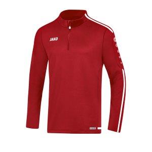 jako-striker-2-0-ziptop-kids-rot-weiss-f11-fussball-teamsport-textil-sweatshirts-8619.png