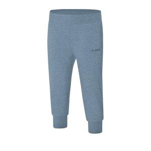 jako-sweathose-basic-capri-damen-blau-f04-fussball-teamsport-textil-hosen-6703.png